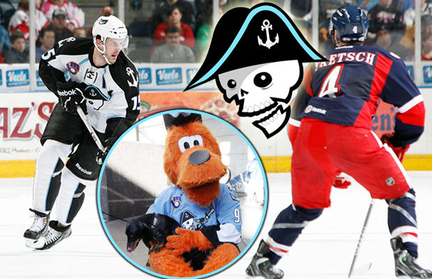 Dog Day Afternoon at the Admirals Game!