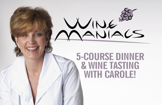 Join Carole at Wine Maniacs!